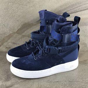 Nike SF Air Force 1 Midnight Navy NWOB